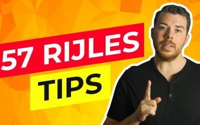 57 Rijles tips voor beginners en gevorderden (in 2020)